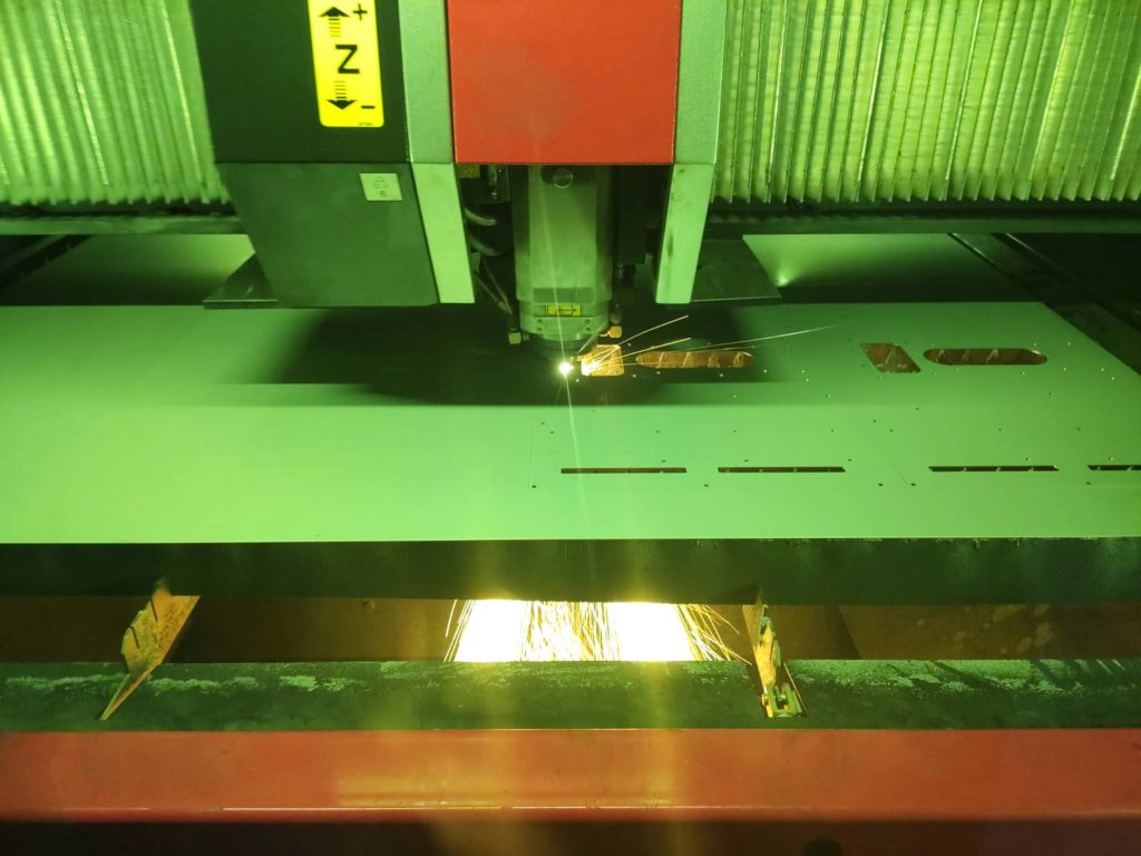 Laserschneiden Faserlaser
